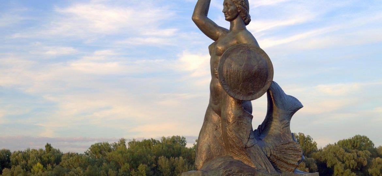 syrenka warszawska symbol